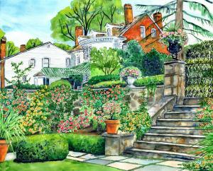 Rose Garden - Stevens Coolidge